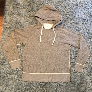Gray Gap static hoodie.